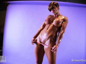 Порно Видео Девушки Культуристки
